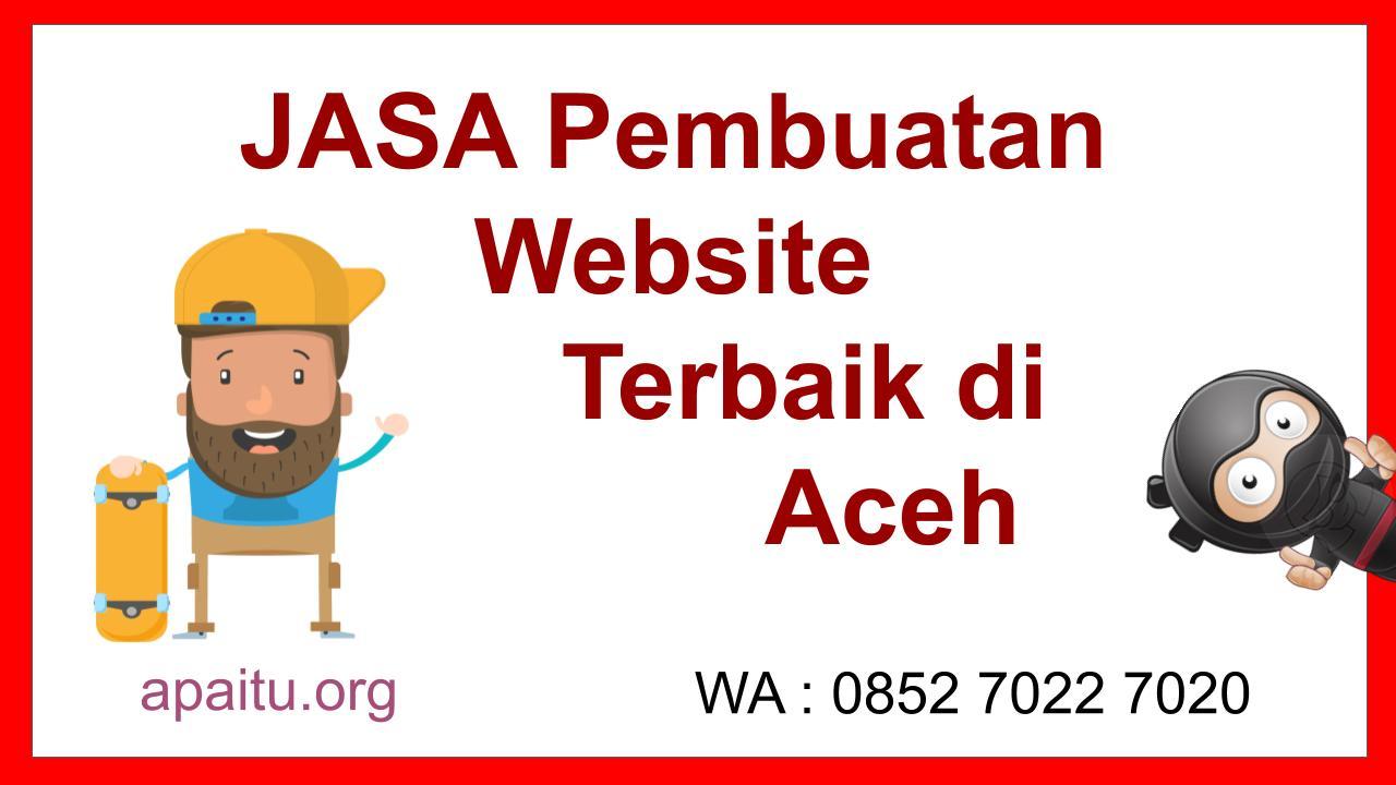 JASA Pembuatan Website di Aceh